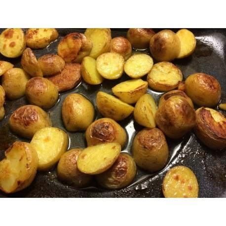 Ziemniaki pieczone z majerankiem