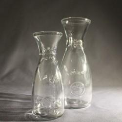 Karafka szklana mała